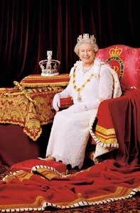 HM THE QUEEN - PATRON OF THE IMPERIAL SOCIETY
